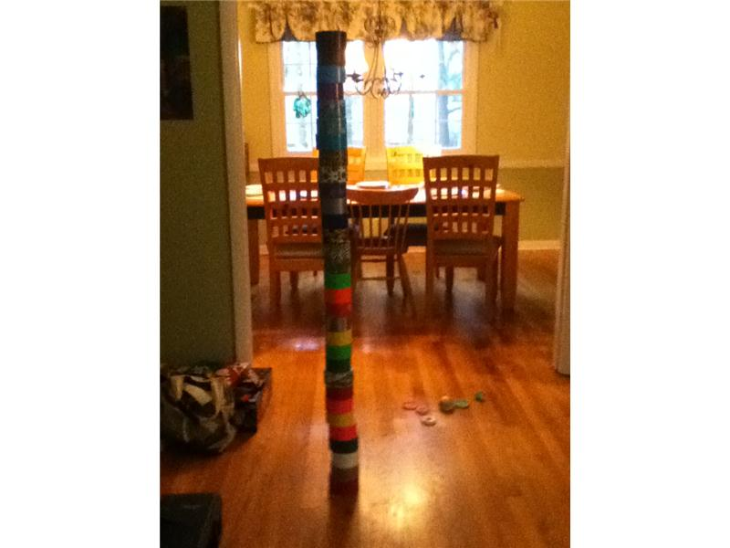 Tallest Duct Tape Roll Tower